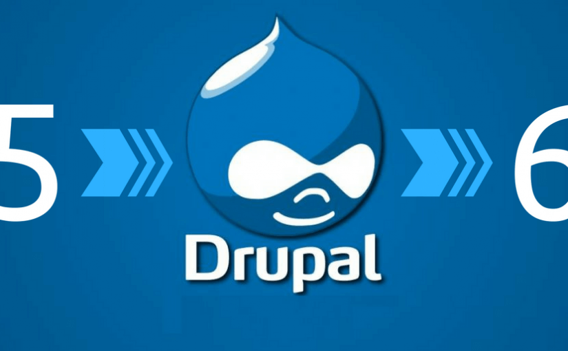 Site update from Drupal 5 to 6
